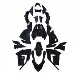 KAWASAKI NINJA ZX-10R ΚΙΤ ΠΛΑΣΤΙΚΩΝ ΟΛΟΚΛΗΡΟ ΚΟΣΤΟΥΜΙ 17 ΤΕΜΑΧΙΑ ΓΥΑΛΙΣΤΕΡΟ