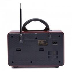 ΦΟΡΗΤΟ ΕΠΑΝΑΦΟΡΤΙΖΟΜΕΝΟ ΡΕΤΡΟ ΡΑΔΙΟ FM/BLUETOOTH/TF/USB ΜΕ ΤΗΛΕΧΕΙΡΙΣΤΗΡΙΟ M-111BT