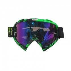 MONSTER ΜΑΣΚΑ ΜΟΤΟΣΥΚΛΕΤΑΣ MOTORCYCLE GOGGLES GREEN