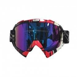 MONSTER ΜΑΣΚΑ ΜΟΤΟΣΥΚΛΕΤΑΣ MOTORCYCLE GOGGLES RED