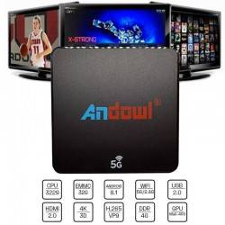 ANDOWL Q M6 SMART BOX 4K 5G ANDROID 8.1 4GB/ 32GB