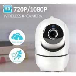 INTELIGENT TRACKING MONITOR MOBILE PHONE REMOTE WIRELESS NETWORK WIFI CAMERA CLOUD STORAGE INTELIGENT SHAKING HEAD NETWORK CAMERA