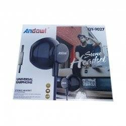 ANDOWL UNIVERSAL EARPHONE STEREO HEADSET QY-9027