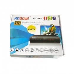 ANDOWL ΑΠΟΚΩΔΙΚΟΠΟΙΗΤΗΣ MPEG4 DVB-T3 QY-H01T3