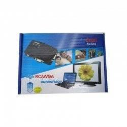 ANDOWL VIDEO CONVERTER VIDEO TO VGA HIGH RCA/VGA CONVERSION QY-V02
