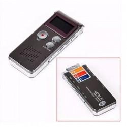 ΨΗΦΙΑΚΟΣ ΚΑΤΑΓΡΑΦΕΑΣ ΦΩΝΗΣ 8GB USB LCD MP3 RC-609