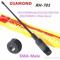 DIAMOND RH701 SMA-MALE ANTENNA RH-701