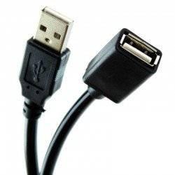 ΚΑΛΩΔΙΟ ΠΡΟΕΚΤΑΣΗ USB 2.0 ΑΡΣΕΝΙΚΟ ΣΕ ΘΥΛΗΚΟ 2,7Μ. ΜΑΥΡΟ OEM RT-USB