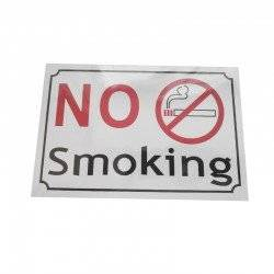 NO SMOKING ΤΑΜΠΕΛΑΚΙ 20Χ9CM SIGN-NS