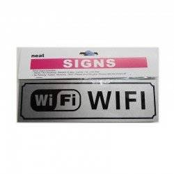 WIFI ΤΑΜΠΕΛΑΚΙ 20Χ9CM SIGN-WIFI