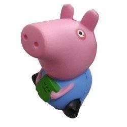 SQUISHY PEPPA PIG ANTISTRESS ΠΑΙΧΝΙΔΙ ΑΝΤΙΣΤΡΕΣ ΠΕΠΠΑ ΤΟ ΓΟΥΡΟΥΝΑΚΙ ΜΠΛΕ