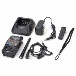 ΑΣΥΡΜΑΤΟΣ ΠΟΜΠΟΔΕΚΤΗΣ DUAL BAND VHF/UHF ΜΕ ΜΙΚΡΟΑΚΟΥΣΤΙΚΟ HANDS FREE 5.8W UV-5RA BOAFENG