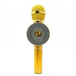 ΑΣΥΡΜΑΤΟ BLUETOOTH ΜΙΚΡΟΦΩΝΟ KARAOKE ΗΧΕΙΟ MP3 PLAYER WSTER GOLD WS-668