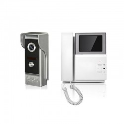 WATERPROOF WIRED VIDEO DOOR PHONE AUDIO VISUAL INTERCOM ENTRY SYSTEM VILLA HOUSE