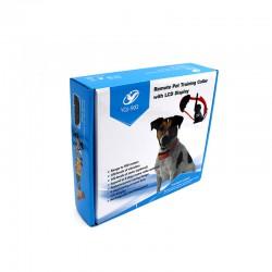 REMOTE PET TRAINING COLLAR WITH LCD DISPLAY IP6X WATERPROOF DOG SHOCK TRAINING COLLAR YQJ-902