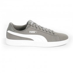 PUMA SMASH V2 CANVAS CV 366420_07 GREY WHITE