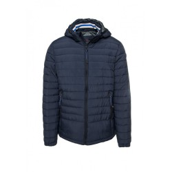FUNKY BUDDHA MEN'S LIGHTWEIGHT JACKET ΑΝΔΡΙΚΟ PADDED ΜΠΟΥΦΑΝ FBM001-01219 NAVY