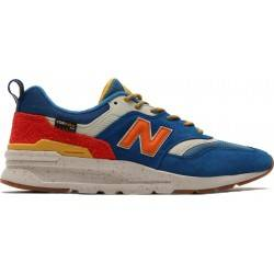 New Balance CM997HFB BLUE WITH VARSITY ORANGE CM997HFB
